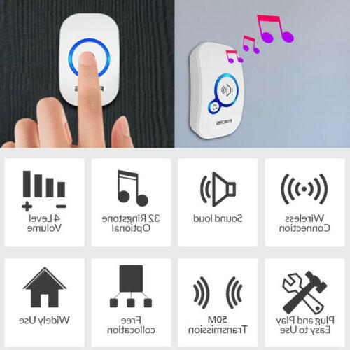 Wireless Button Smart Home Security Welcome
