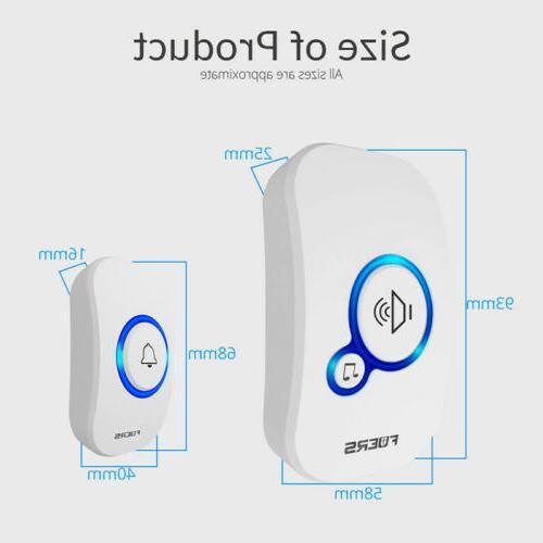 Wireless Smart Home Alarm Welcome Doorbell