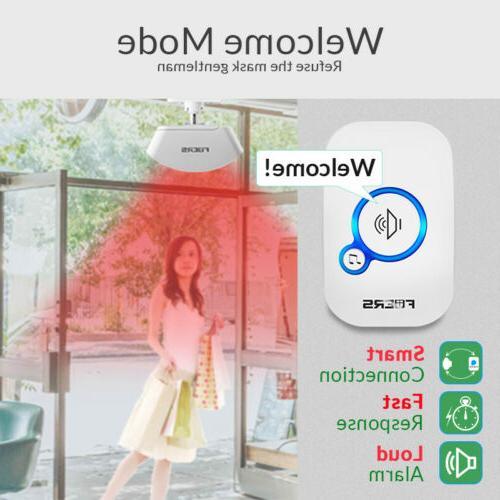 Wireless Doorbell Push Smart Security Alarm Welcome Doorbell