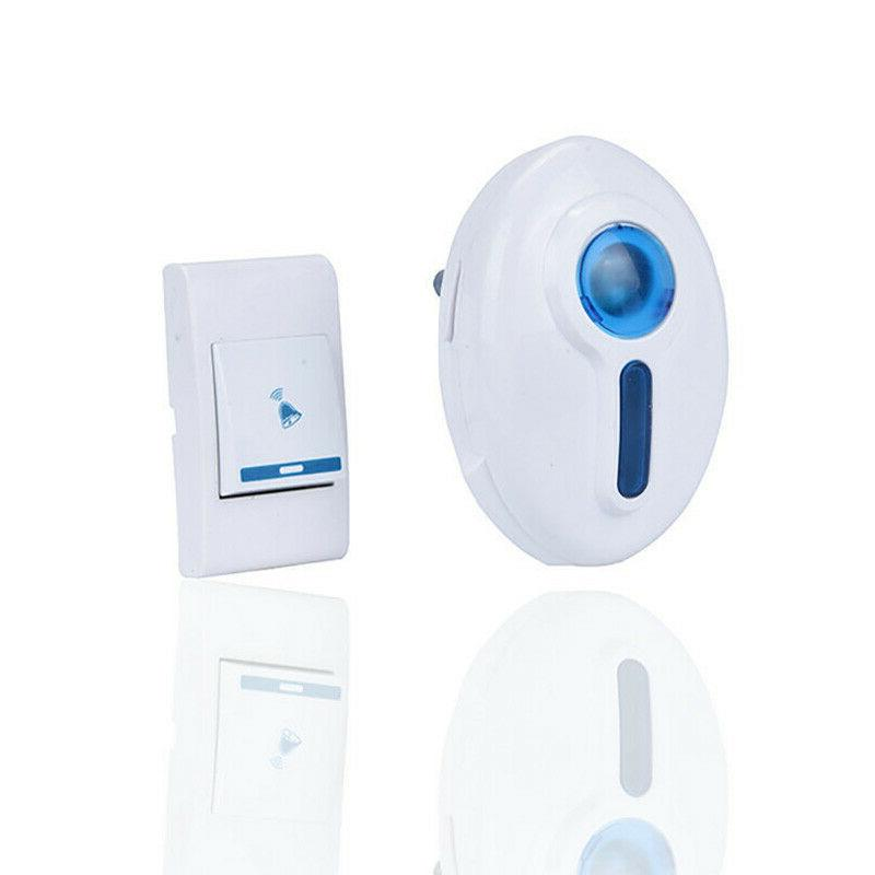36 chimes wireless doorbell remote plug in