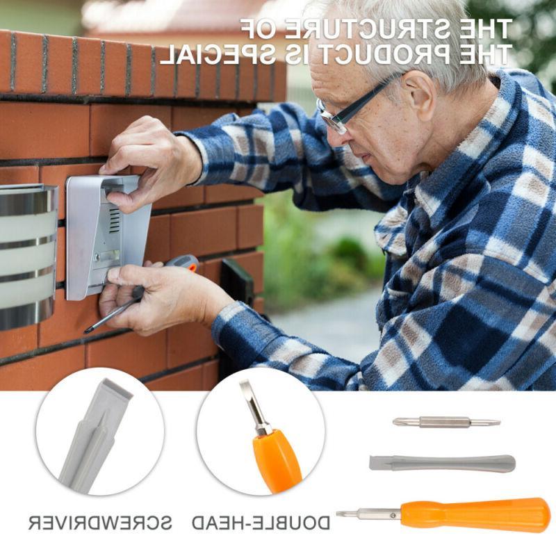 4 Doorbell Screwdriver Replacement With Doorbell