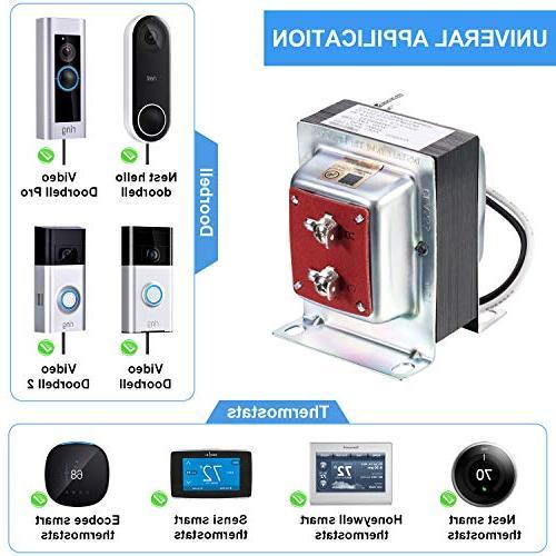 24V Doorbell Transformer, Sensi and and All Ring Doorbell