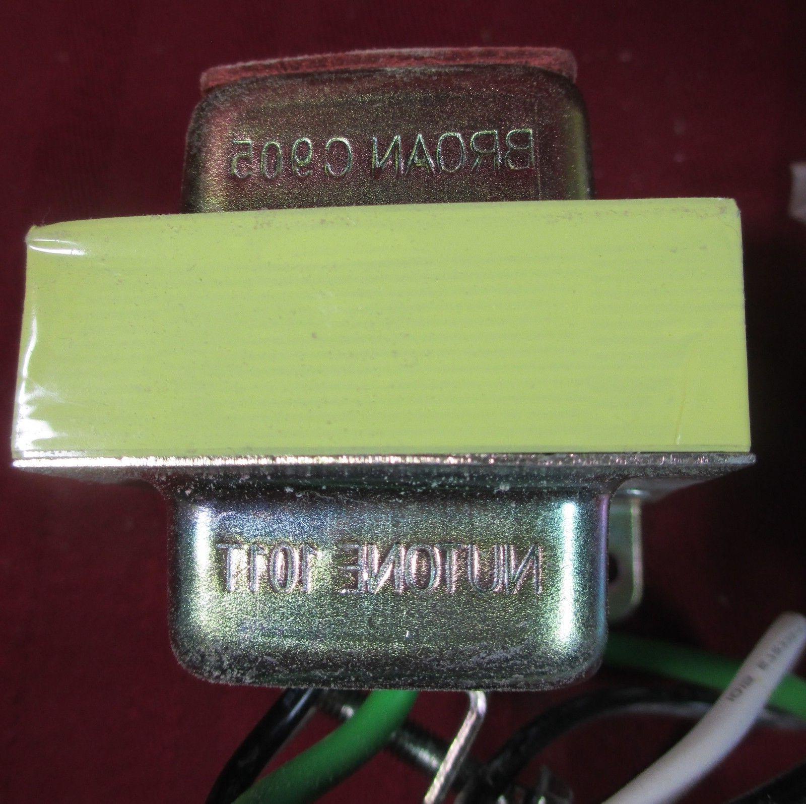 5 broan c905 doorbell transformer chime bell