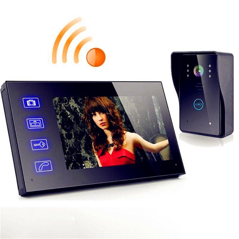 """7"""" Wireless Video Door Phone Doorbell Intercom with Waterpro"""