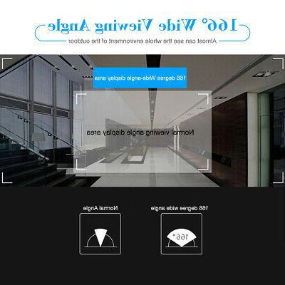 OWSOO WiFi Doorbell Video Phone 2-Way APP Monitor Alarm Push USB