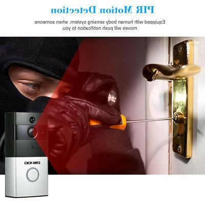 OWSOO Doorbell Video Door Phone APP Alarm Push USB