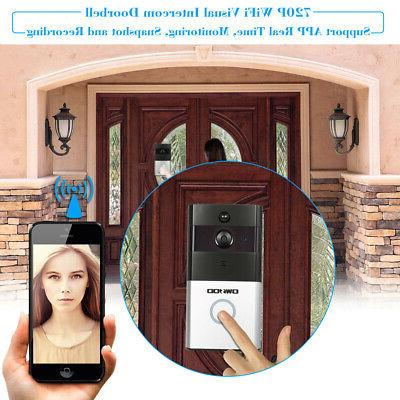 OWSOO Wireless Phone DoorBell Camera Bell Home