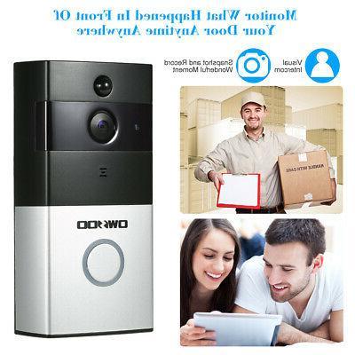 OWSOO DoorBell Camera Bell Security