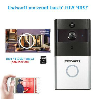OWSOO Wireless DoorBell Visual Camera Bell Home Security