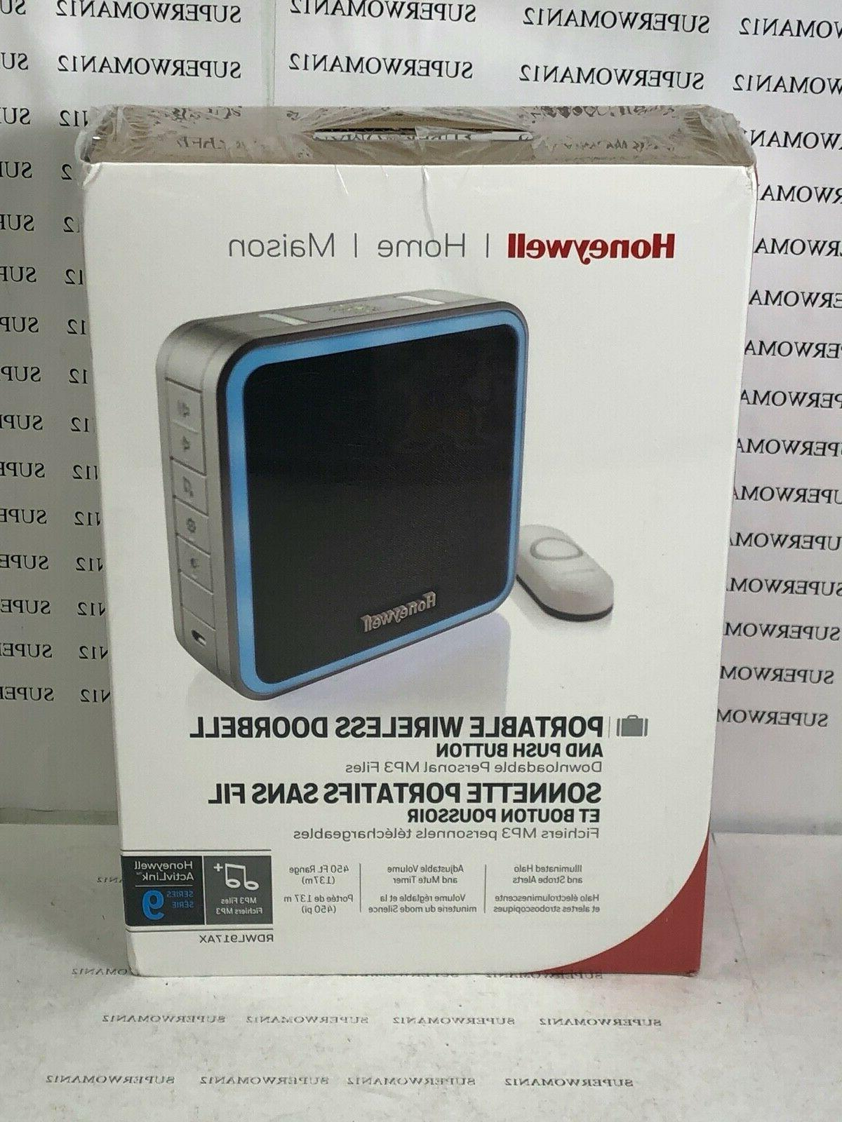 9 series wireless portable doorbell