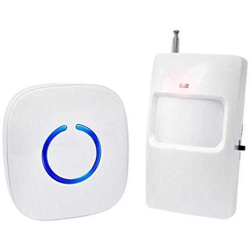 SadoTech Wireless PIR Motion Sensor Doorbell Operating at 50