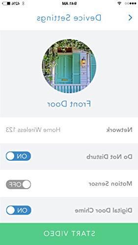 Skybell Video Doorbell - Bronze