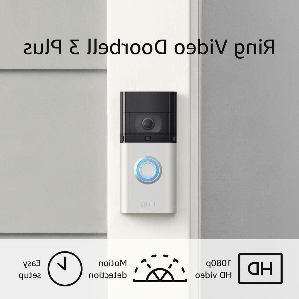 All-new 2020 Ring Video Doorbell 3 Plus Enhanced Wifi Improv