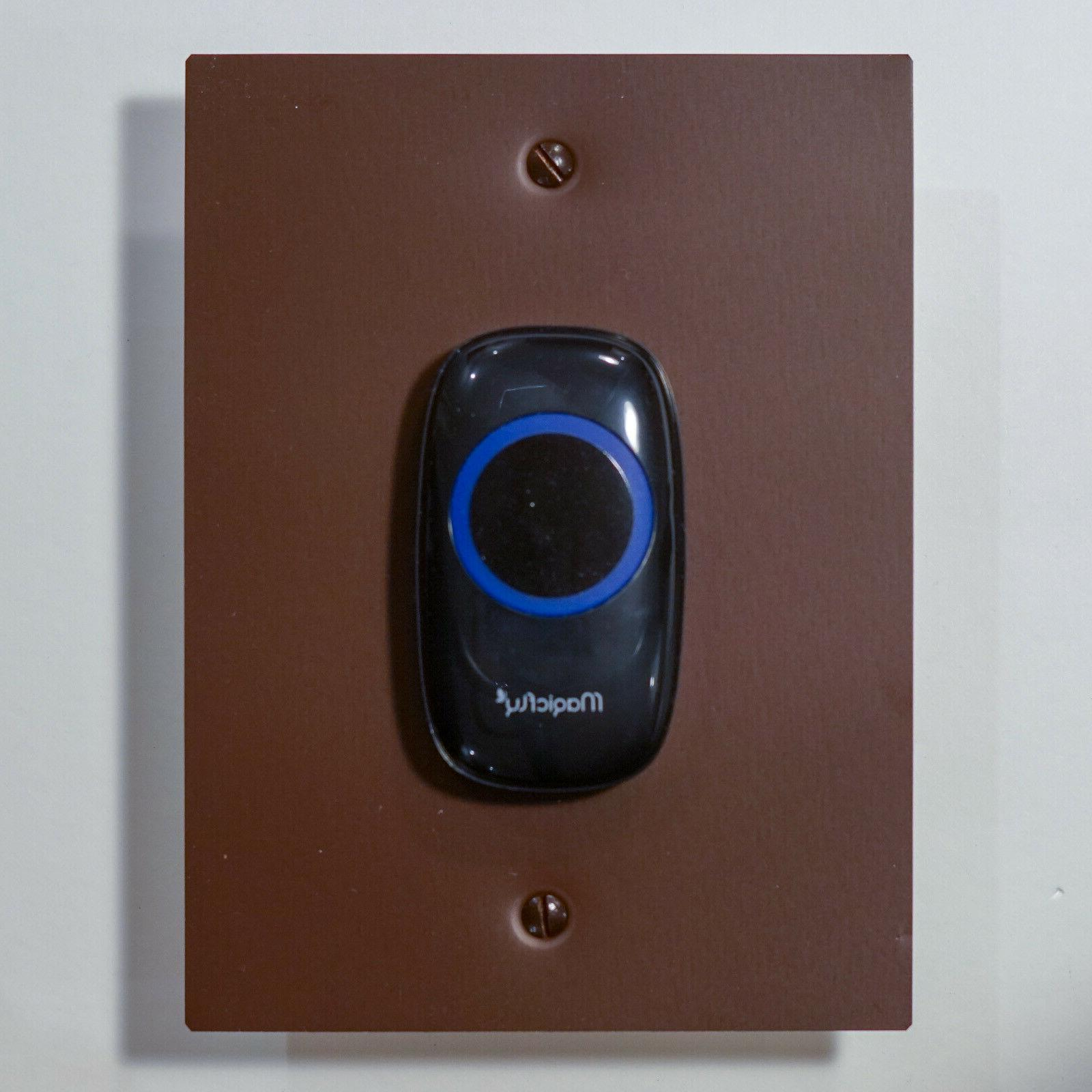 Aluminum Installation Adapter for the MagicFly Doorbell, Colors