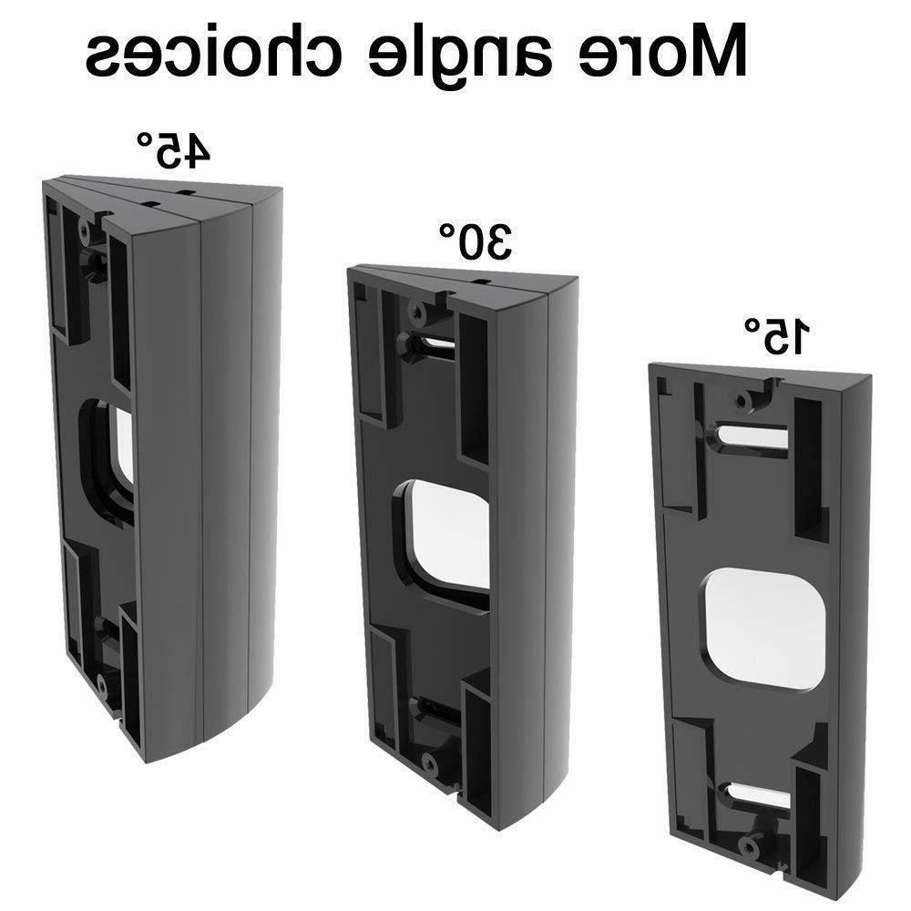 Angle Mount Adapter Mounting Bracket For Doorbell