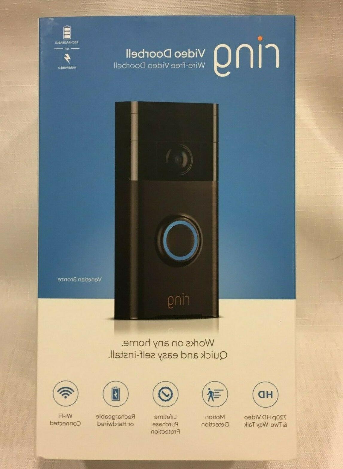 Ring Wireless Video WIFI