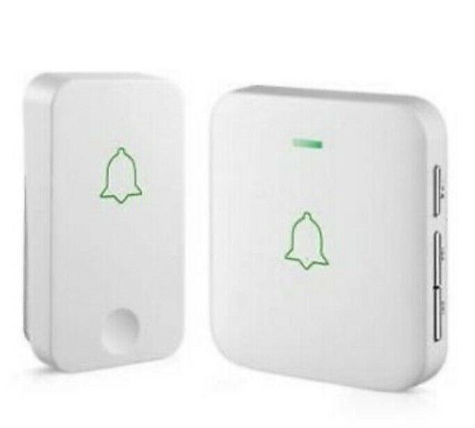 avantek self powered wireless doorbell 1 battery