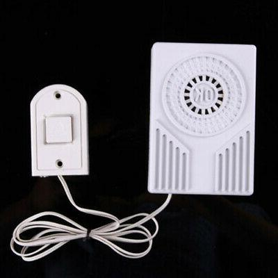 Modern Wired Door Ring Bells Chimes Loud Sound For Home Offi
