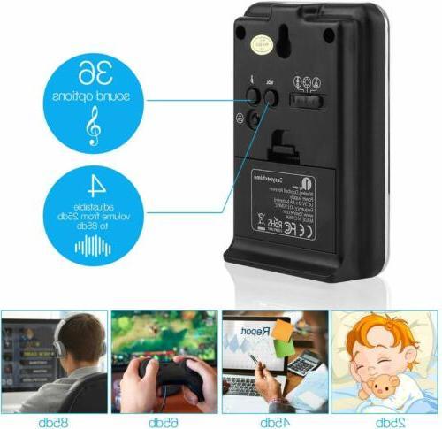 1byone Wireless Bell Chime Waterproof Battery