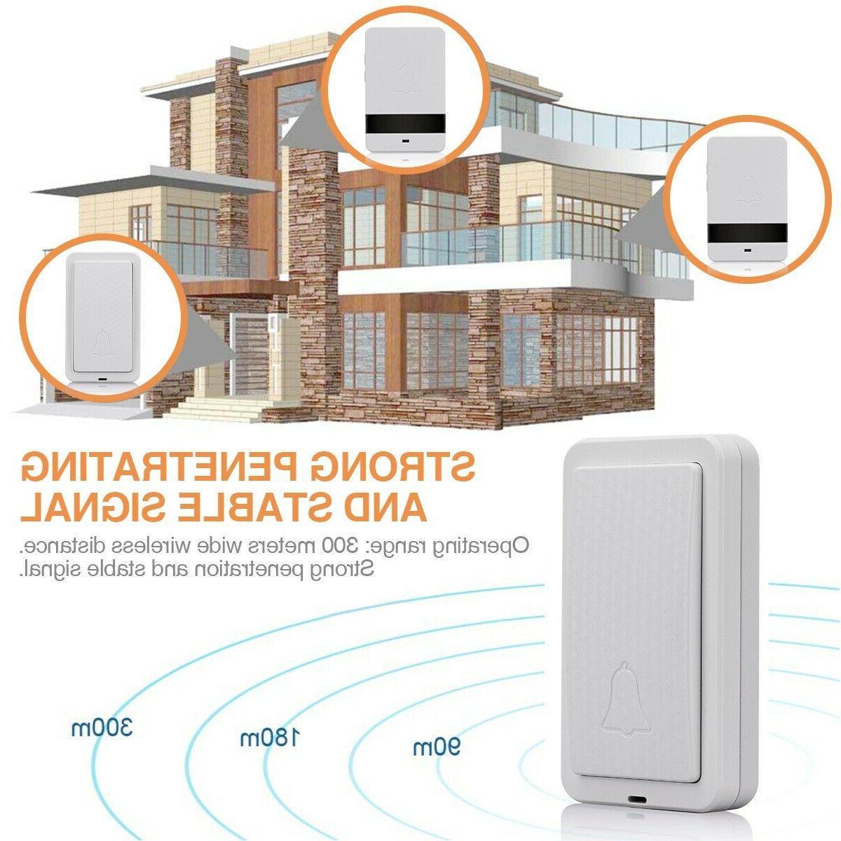 1000ft Wireless Twin Wall Cordless Door US