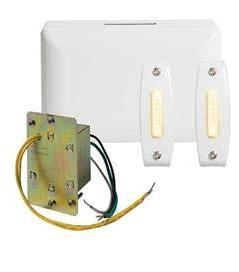 NUTONE - BK242LWH 2-Note Door Chime w/Junct Box & 2-Lighted
