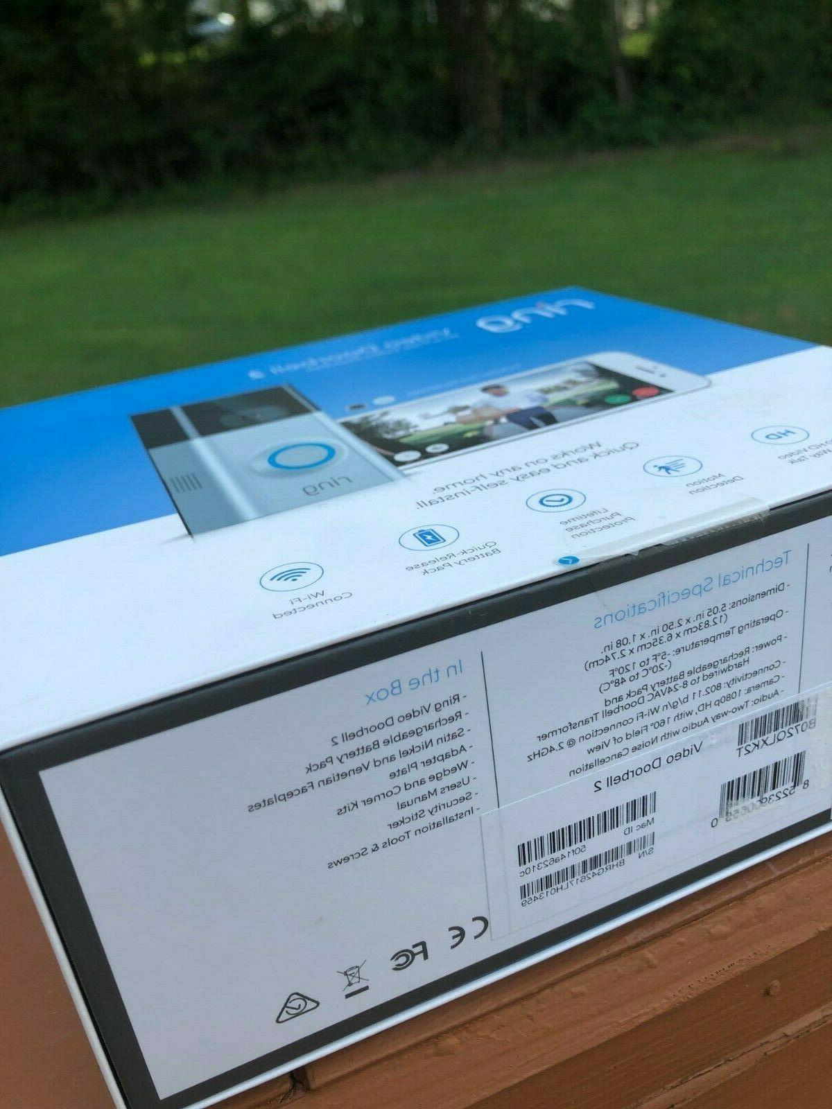 BRAND Doorbell 2 Doorbell Year Warranty!