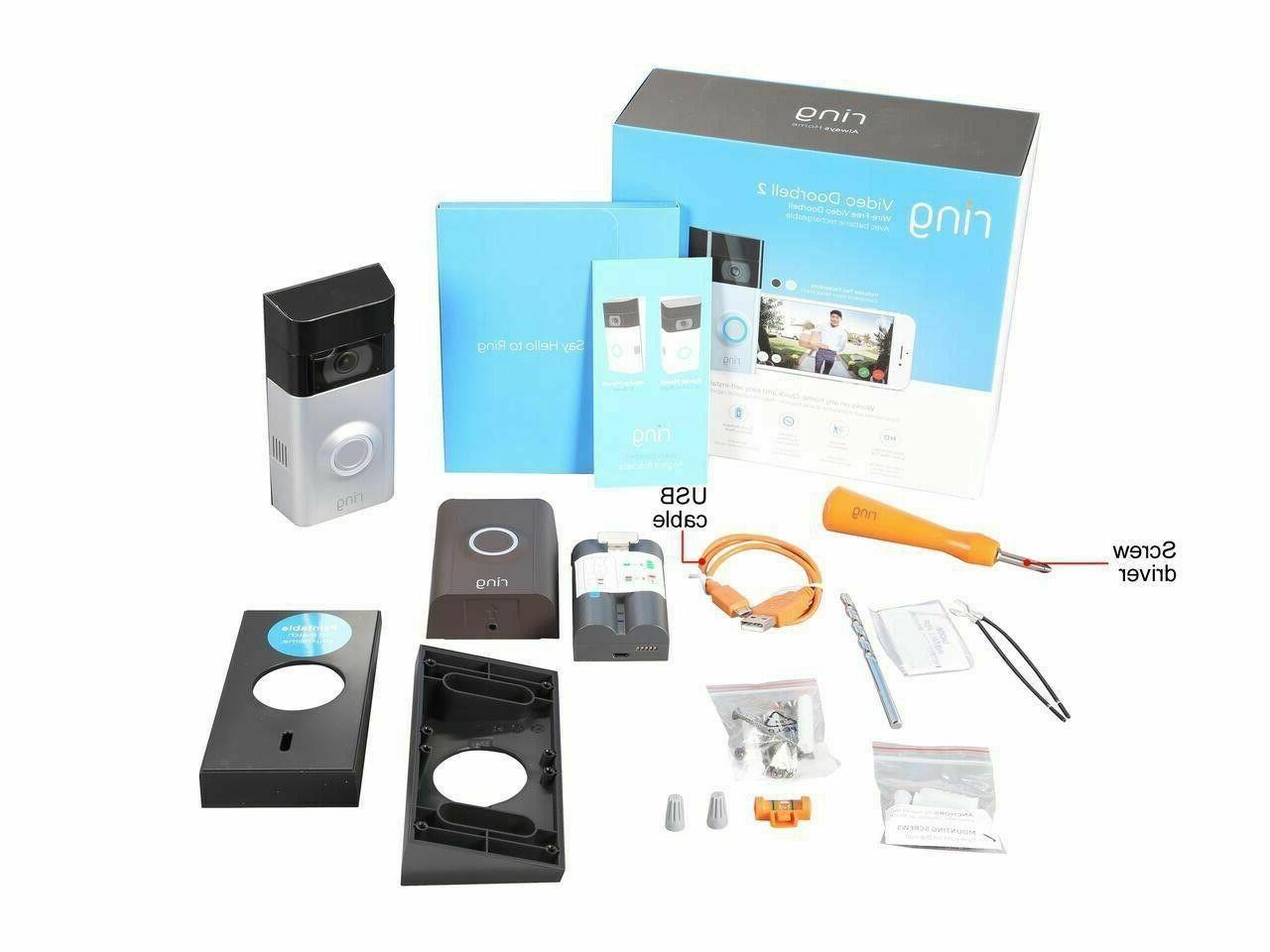 BRAND Ring Doorbell Doorbell with Warranty!