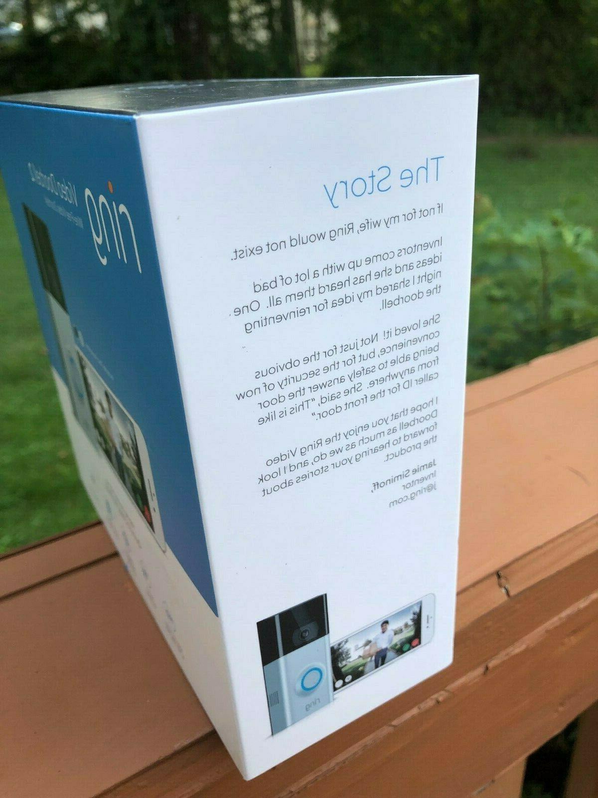 BRAND Doorbell 2 Doorbell with 1 Warranty!