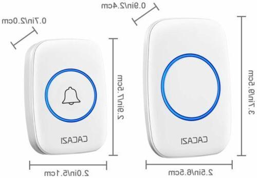 Wireless CACAZI Door 1000Ft Range