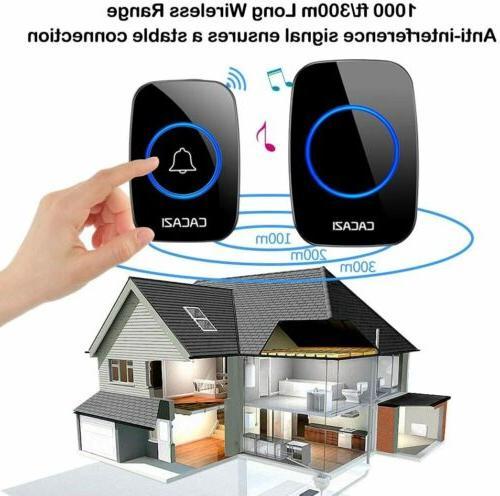 Wireless CACAZI Plug-in 1000Ft Range