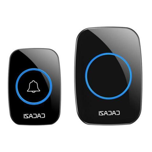 CACAZI Wireless Doorbell 1000 feet Range Remote Waterproof L