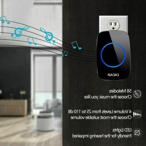 Wireless LED Push Plug-in