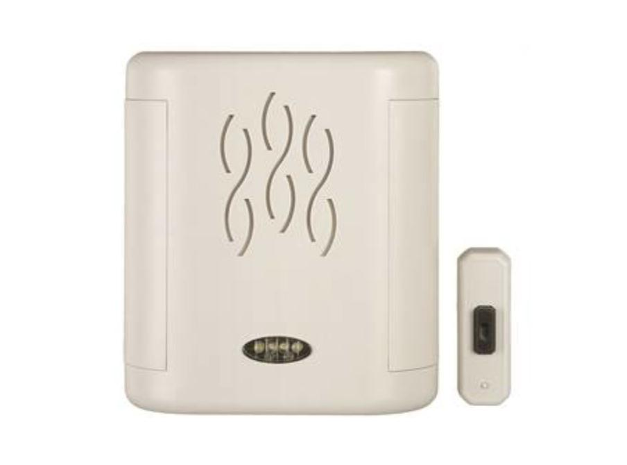 Carlon Long-Range Wireless Battery-Operated Door Chime With