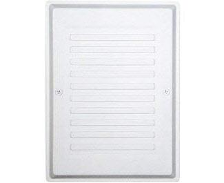 Craftmade CB-REC Paintable Matte White Paintable Grille