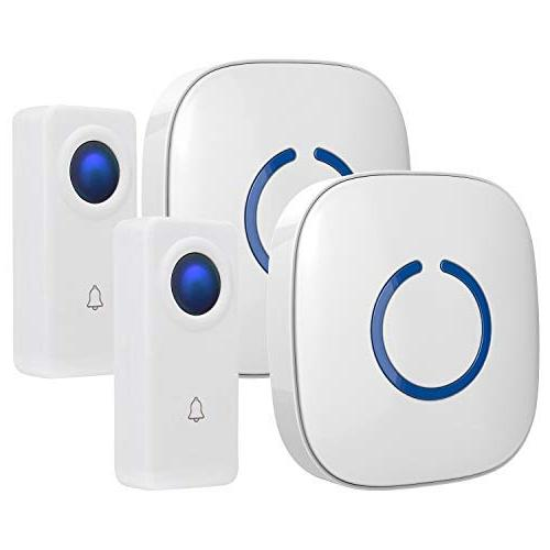 crosspoint expandable wireless doorbell alert