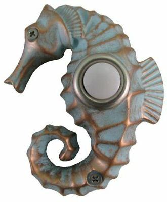 dbp 029 seahorse painted doorbell