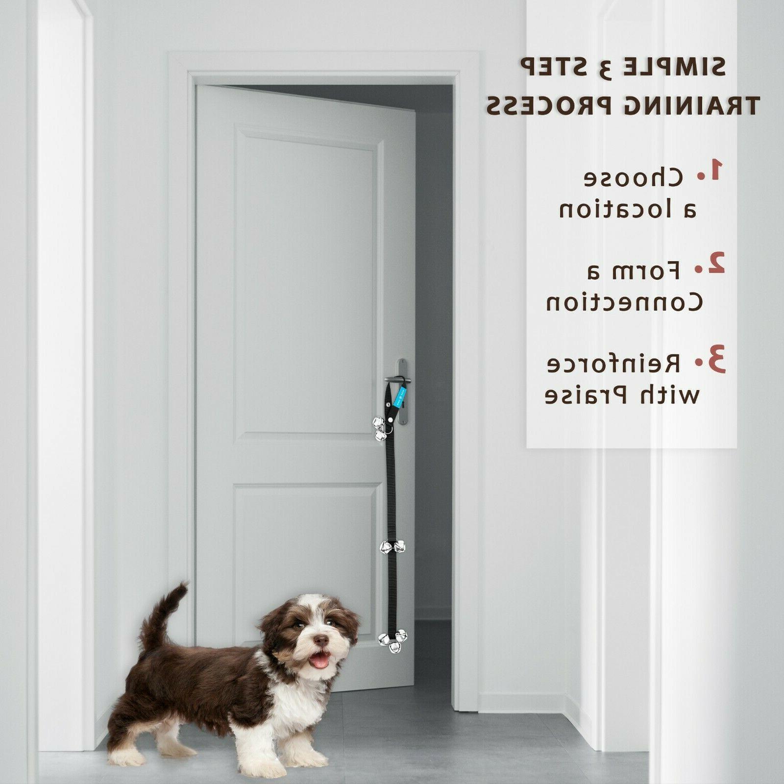 Dog Door DoorBells For Potty 7 Large FREE