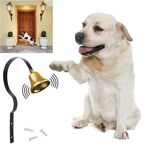 dog training tinkle bell metal