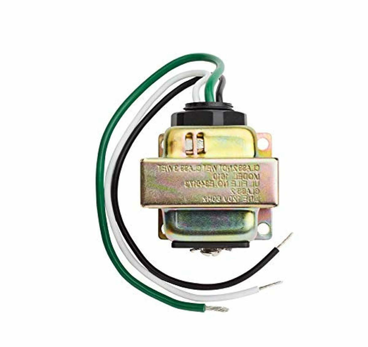 Door Bell Chime Ring Transformer Wired 16V 10-VAC