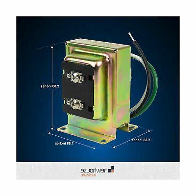 Newhouse Hardware Door Chime Transformer, 16V, 10VA