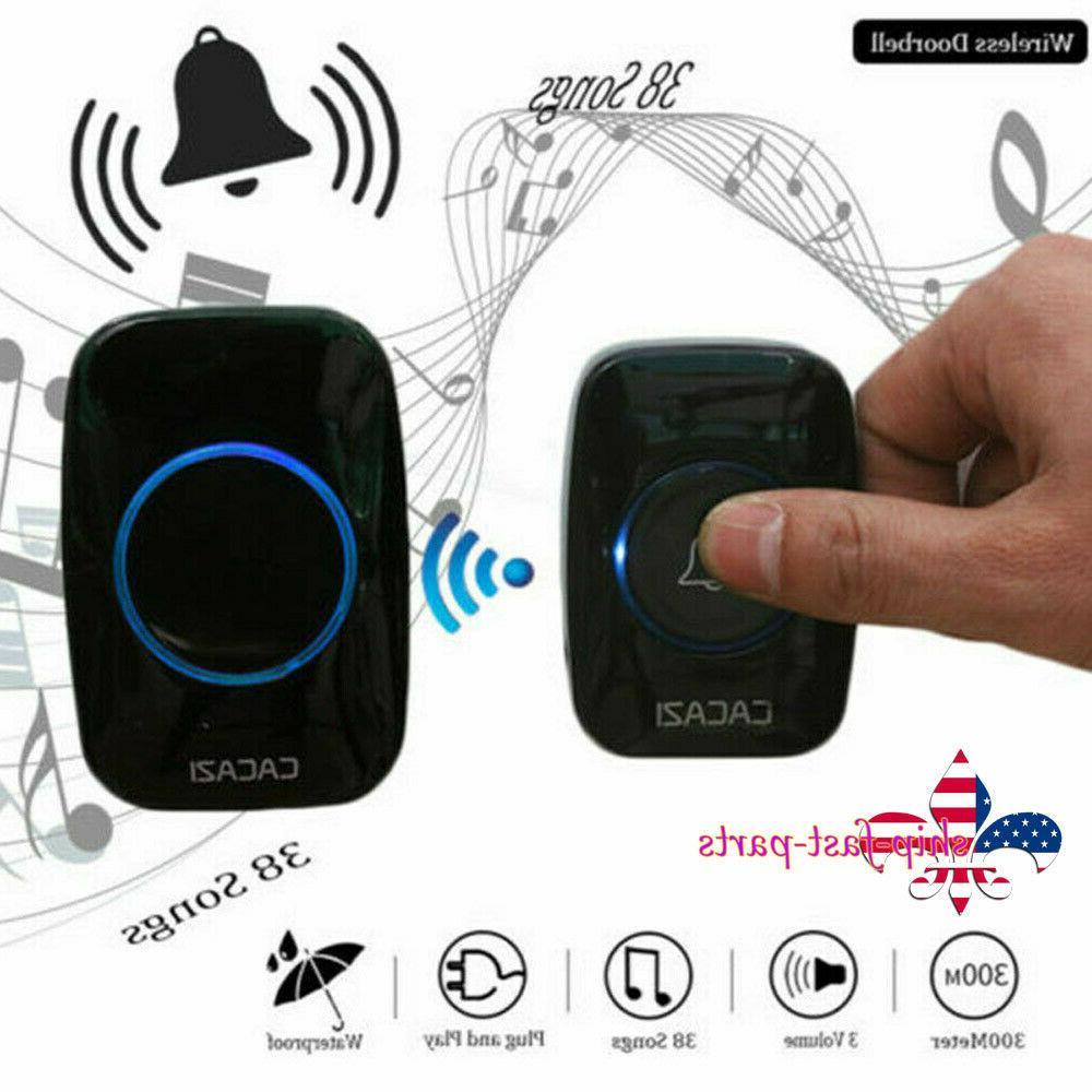 Door + Plug Receiver Doorbell Battery