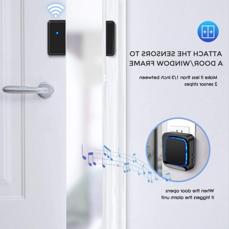 Door Wireless Chime for Coolqiya