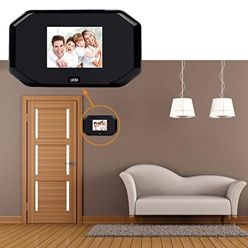 Peephole Viewer Security Camera, Degree Home Security