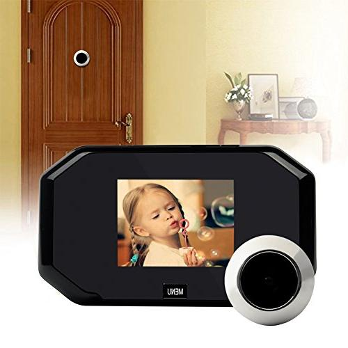 Peephole Camera, Awakingdemi 3.0 Viewer 2 Million Camera, for Home