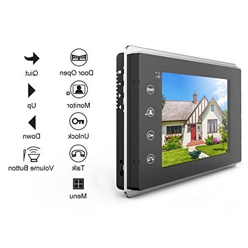 Intercom Video Doorbell Kit 13.3 x 4.1 inches