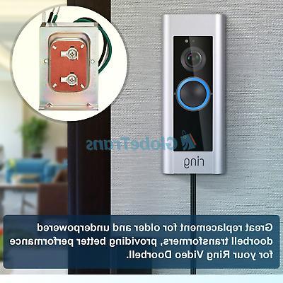 Doorbell Transformer, 30va Compatible Ring Doorbell Pro, Nest