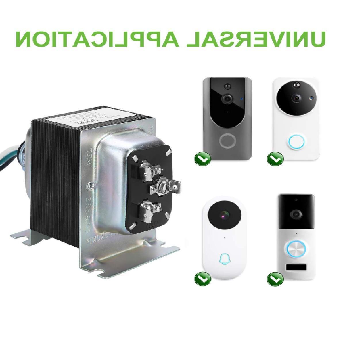 Doorbell Transformer, Comptible Ring Doorbell Pro