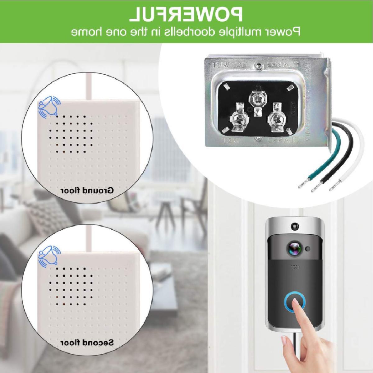 Doorbell Transformer, Comptible Video Doorbell Pro