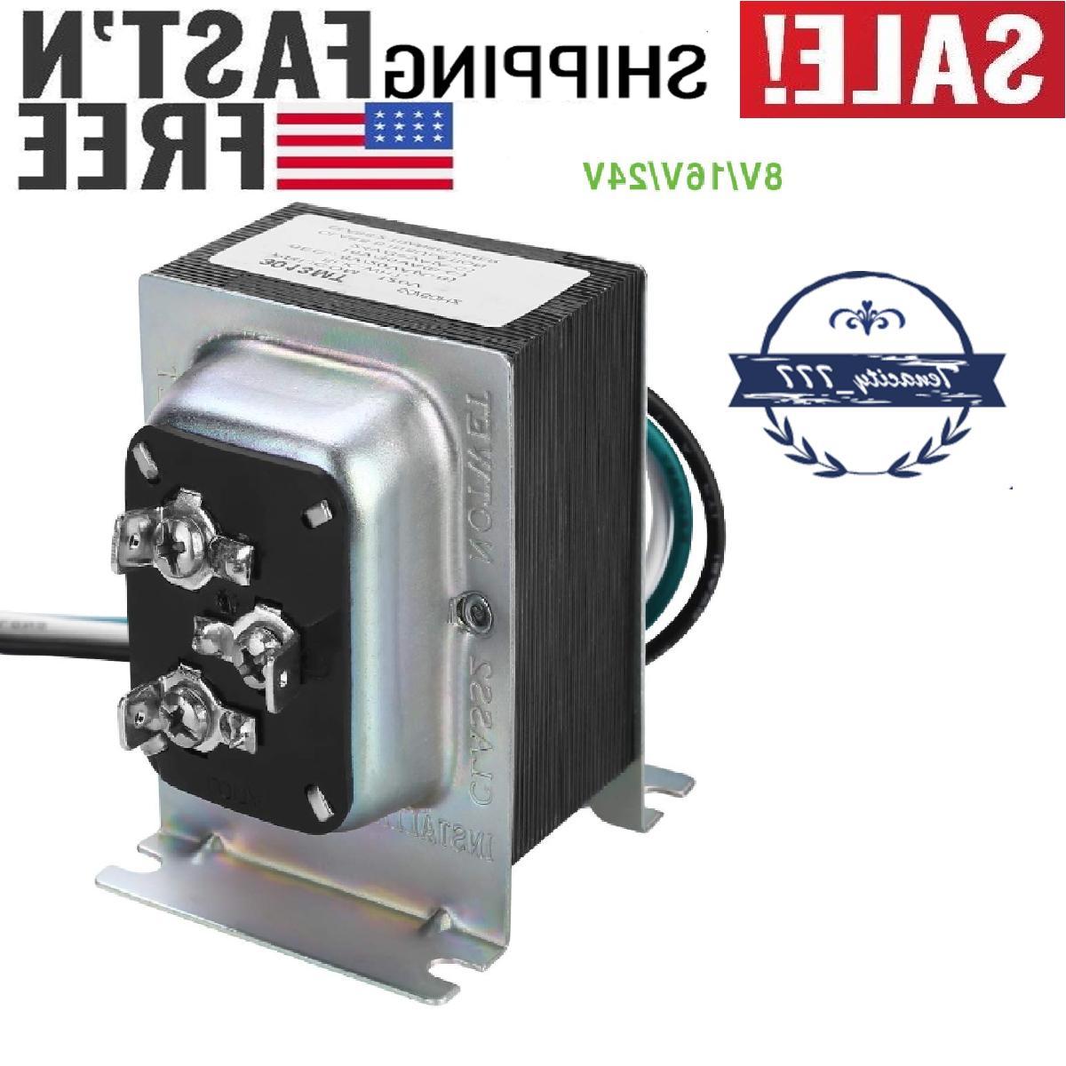 doorbell transformer 8v 16v 24v 20 30va