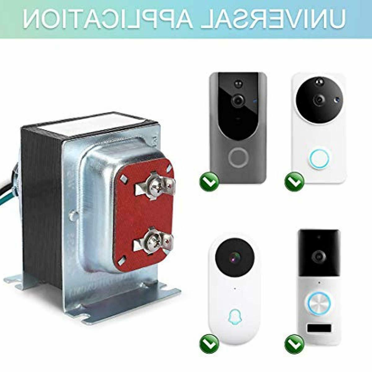 Doorbell Transformer, Chime Transformer Compatible Ring